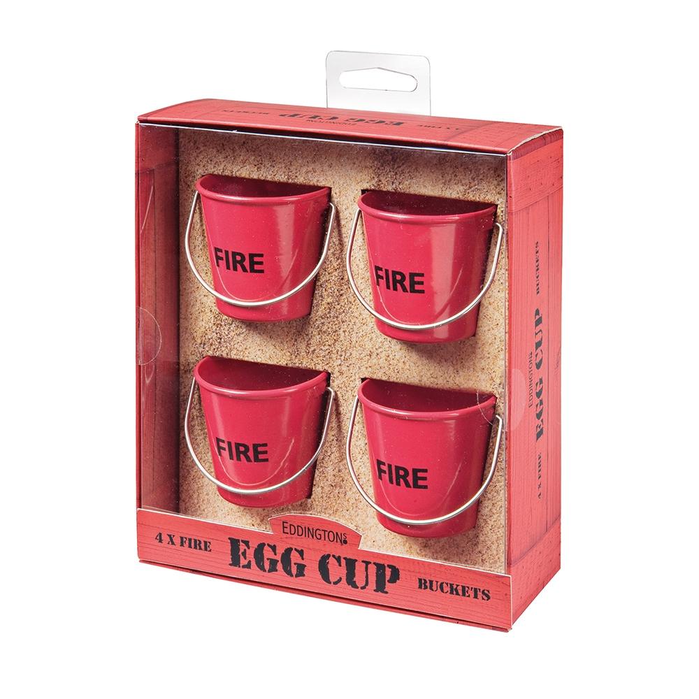 EGG CUP PAILS VINTAGE HENS