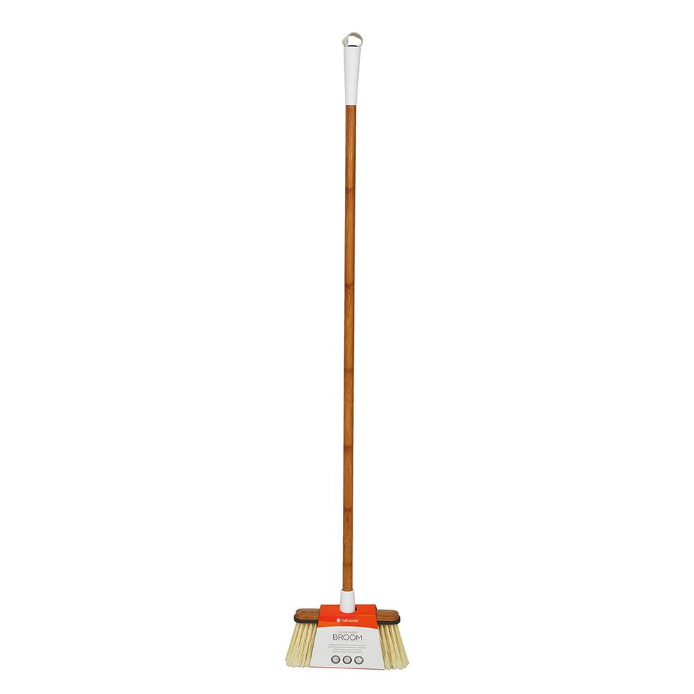 Jantex Clean Sweep Rubber Broom and Telescopic Handle