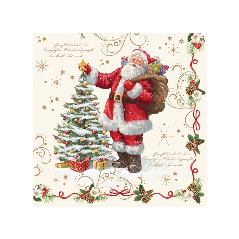Christmas Napkins.Magic Christmas Napkins Eddingtons